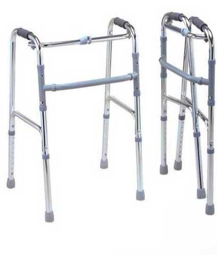 Lightweight Folding Walker Without Wheels