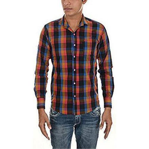Mens Stylish Check Shirt
