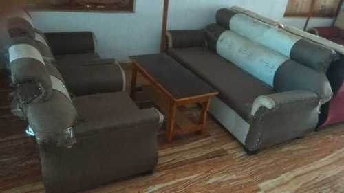 Sturdy Design Wooden Sofa Set