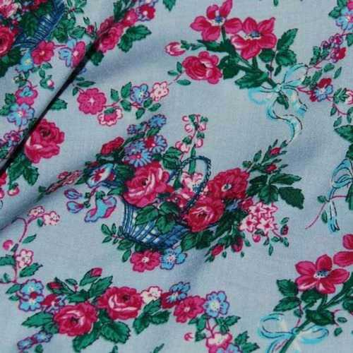 Weightless Printed Georgette Fabric