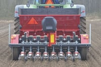 Agricultural Tractor Driven Onion Vegetable Transplanter