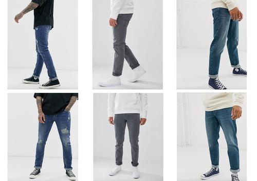 Anti Wrinkle Mens Jeans