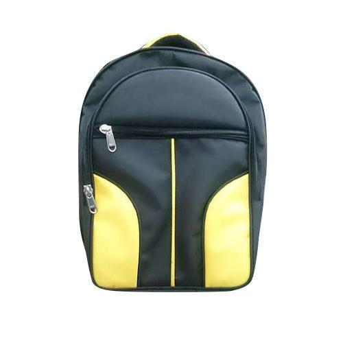 Black And Yellow Laptop Bag