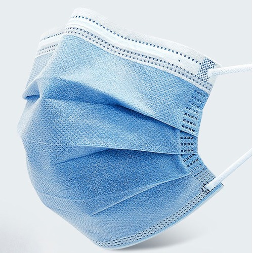 Disposable Non-Woven 3 Ply Surgical Mask