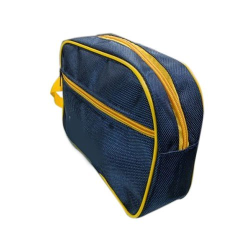 Light Weight Yellow And Blue Cash Bag