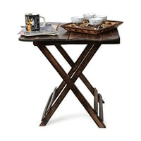 Living Room Folding Wooden Table