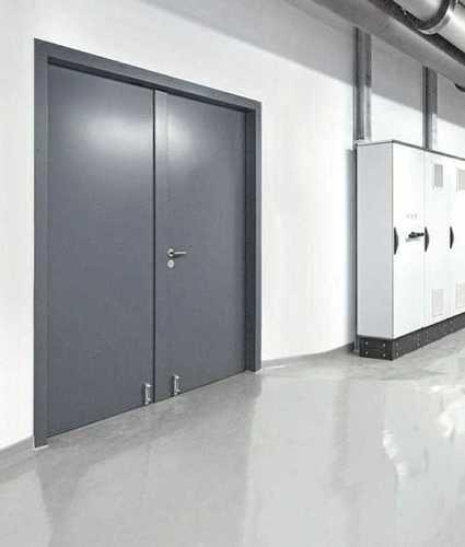 Powder Coated Flush Metal Doors