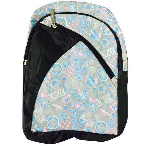 Printed Laptop Shoulder Bagpack