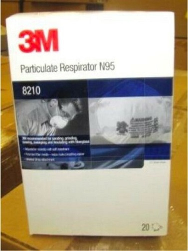3M Particulate Respirator N95 Face Mask