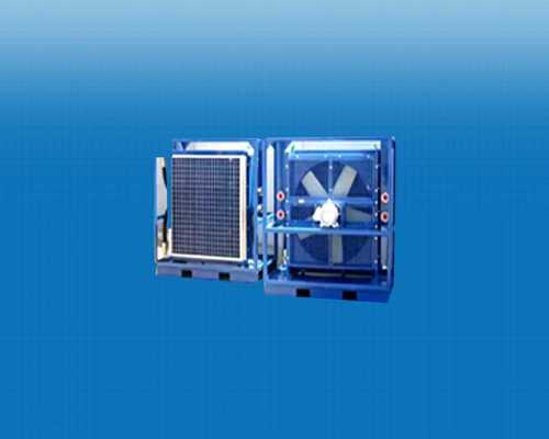 Blue Oil Coolers For Industrial