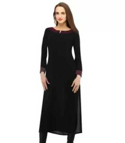 Ladies Black Color Kurti
