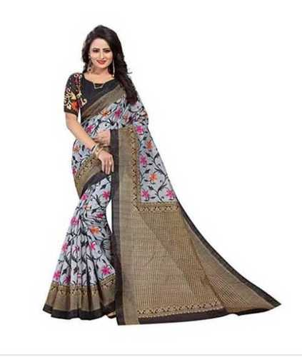 Ladies Elegant Cotton Printed Saree