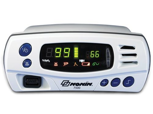 Model 7500FO - Fiber Optic Pulse Oximeter MRI Compatible