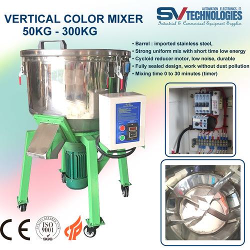 Plastic Color Mixer 25 Kg - 300 Kg