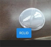 Plastic Disposable Glass Lid