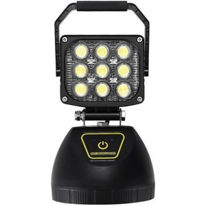 Portable Rechargeable LED Area Work Light with Heavy Duty Magnetic Base