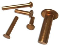 Round Copper Solid Rivets