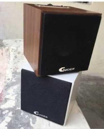 White And Brown Wireless Bluetooth Speaker
