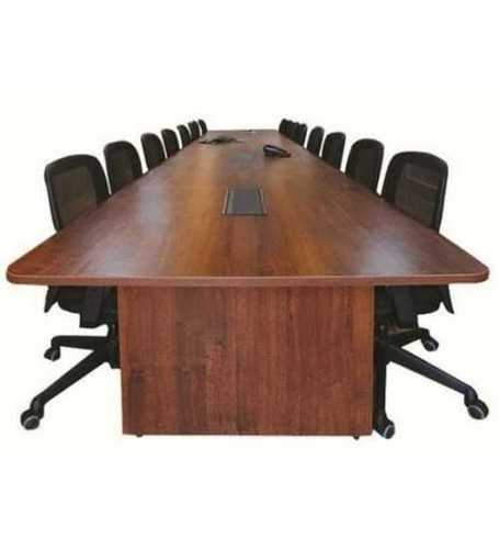 Wooden Rectangular Conference Table