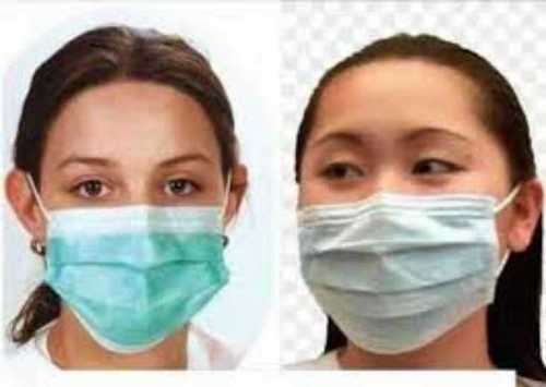 Blue Color Disposable Face Mask