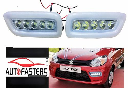 Car LED Fog Light with DRL New Maruti Suzuki Alto 2019