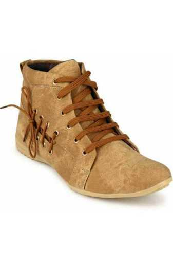 Mens Sneaker Style Brown Color Boot