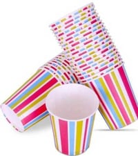 Multi Colored Paper Cups