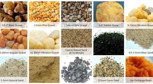 Multi Grade Sand Filter Media