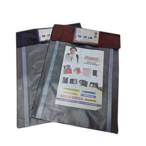 Plain Satin L Shape Folder