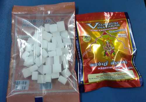 White Camphor Tablet Packs