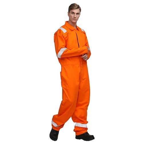 100% Cotton Flame Retardant Coveralls Safety Clothing