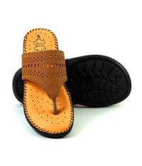 Precise Design Ladies Leather Slipper