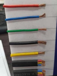 Wholesale Price Multicolor Electrical Wires