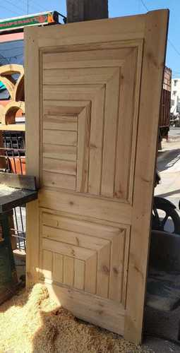 High Weather Resistance Wooden Door