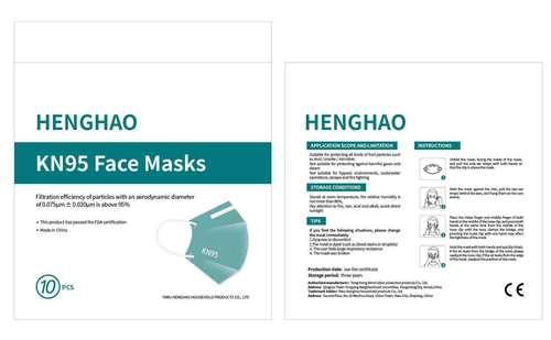Kn95 Face Mask With Ce Certification