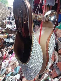 Ladies Fancy High Heel Sandal