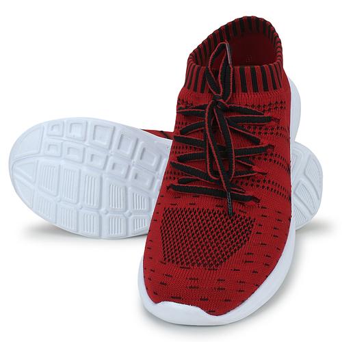 Red Mens Casual Shoes (Sega Ks-9 Red
