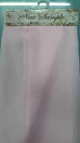 Smooth Texture Pink Organza Fabric