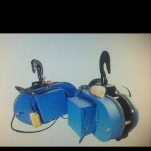 Trolley Hoist With Electric Chain