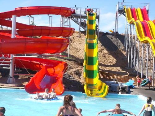 Aqua Funnel Water Slide