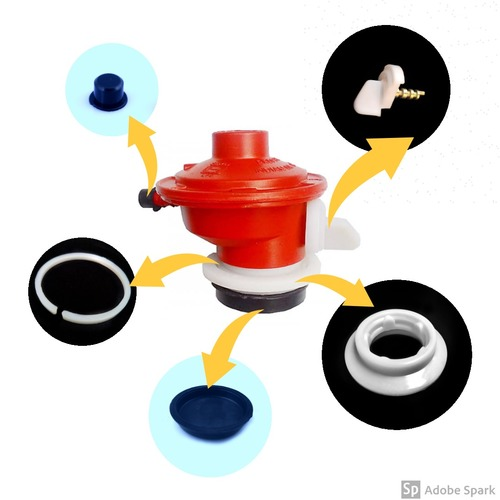 LPG Regulator Plastic Cap