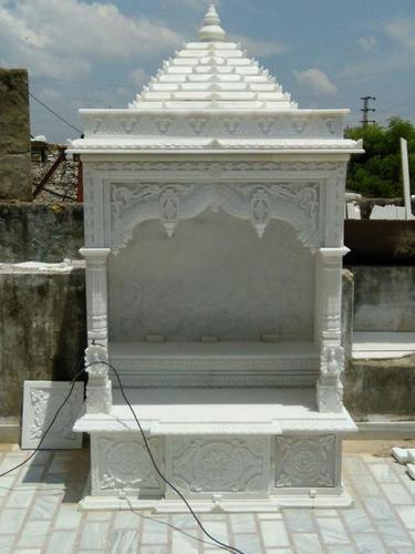 Polishing White Marble Home Temple At Price 125000 Inr Piece In Makrana Id 6337056