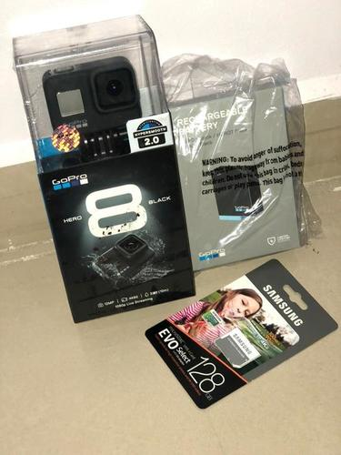 GoPro Hero 8 Hypersmooth Streamlined 4k Action Camera - Black