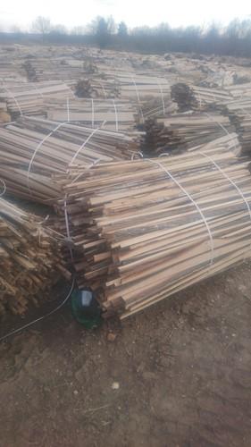 Natural Poplar Firewood Logs