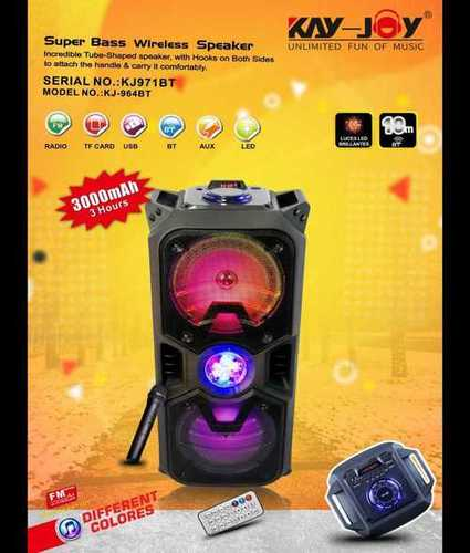 Super Bass Wireless Trolley Speaker