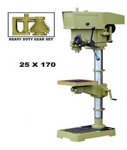 25mmx170mm Ram Travel Pillar Drilling Machine