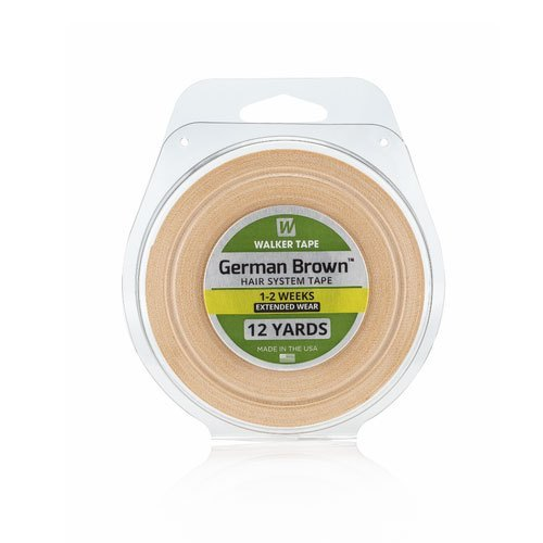 German Brown Hair Adhesive Tape