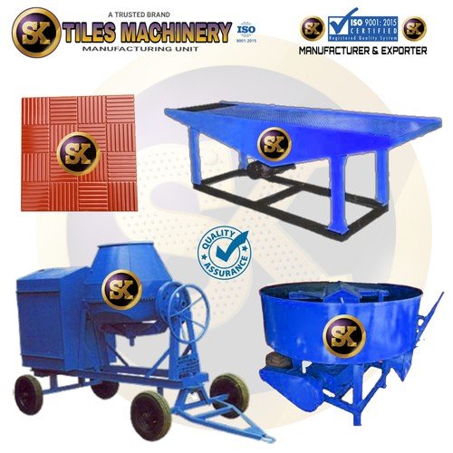 Interlocking Paver Making Machine