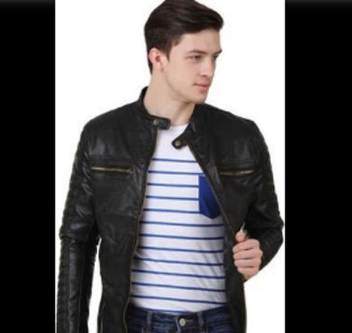 Mens Casual Wear Leather Jackets