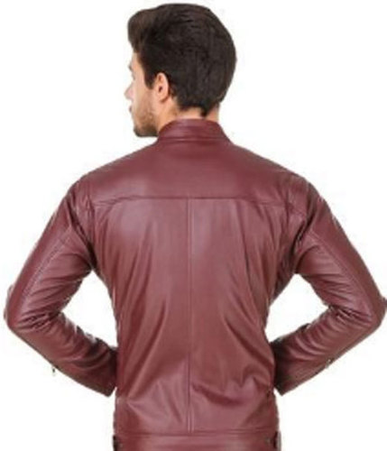 Mens Comfortable Leather Jacket